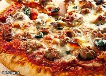 پیتزا مخصوص آداک بزرگ